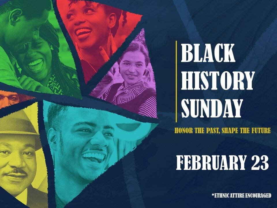 Black History Sunday